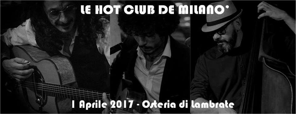 Le Hot Club de Milanò – Osteria di Lambrate